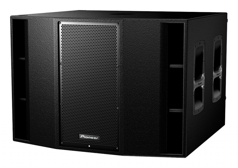 caissons de basses amplifi s pioneer dj xprs 215s sunset music. Black Bedroom Furniture Sets. Home Design Ideas