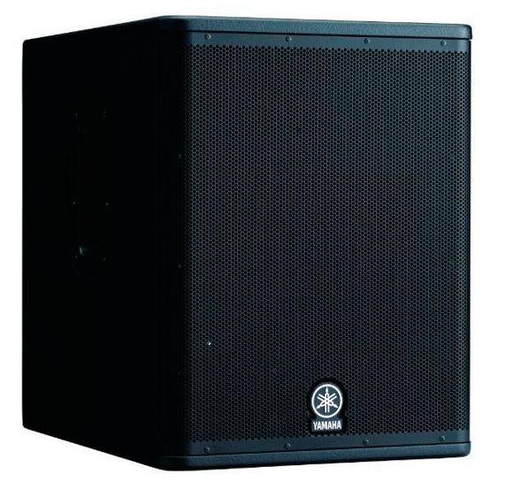 caissons de basses amplifi s yamaha dxs 15 sunset. Black Bedroom Furniture Sets. Home Design Ideas